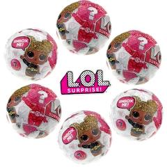 Кукла-сюрприз LOL в шарике серия 5 - набор из 6 шариков