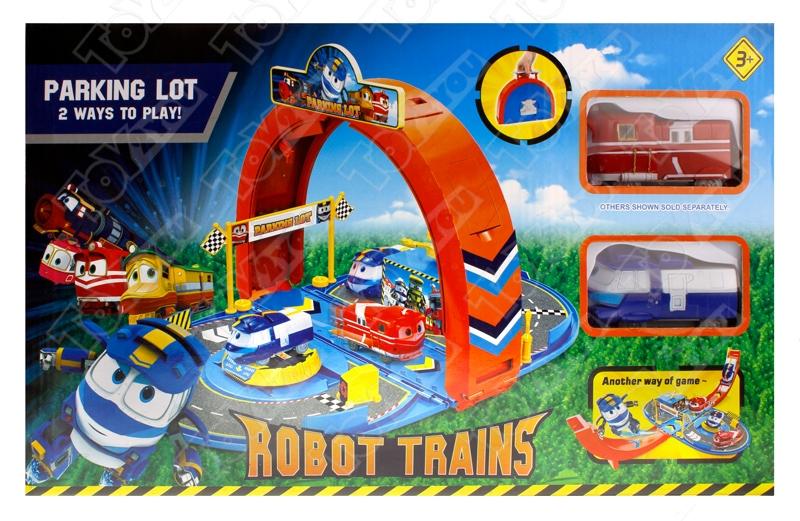 Парковка Роботы Поезда (Robot Trains)