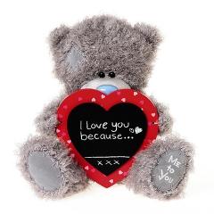 Мишка G01W3828 Тедди Me to You 25см с сердцем