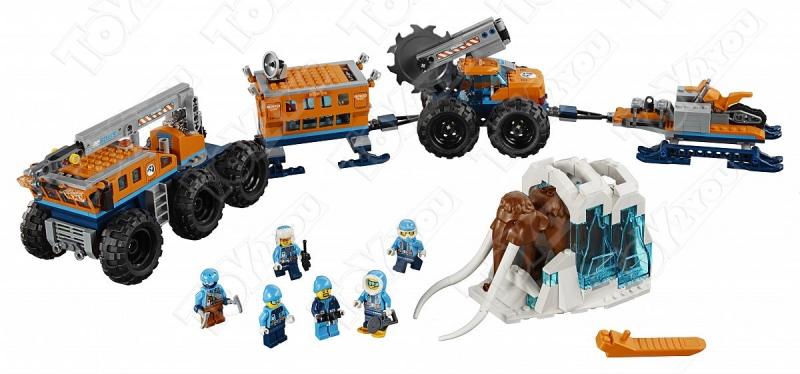 Конструктор City Передвижная арктическая база 804 деталей 60195 10997