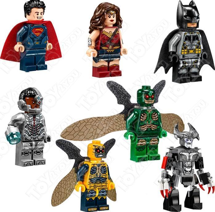 Конструктор Супергерои DC Лига Справедливости: Нападение с воздуха 991 деталей BELA (10846)