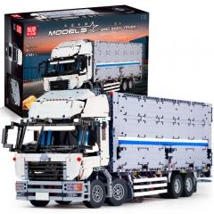 Конструктор MOULD KING «Грузовик с прицепом Wing Body Truck RC APP» 13139 4166 деталей