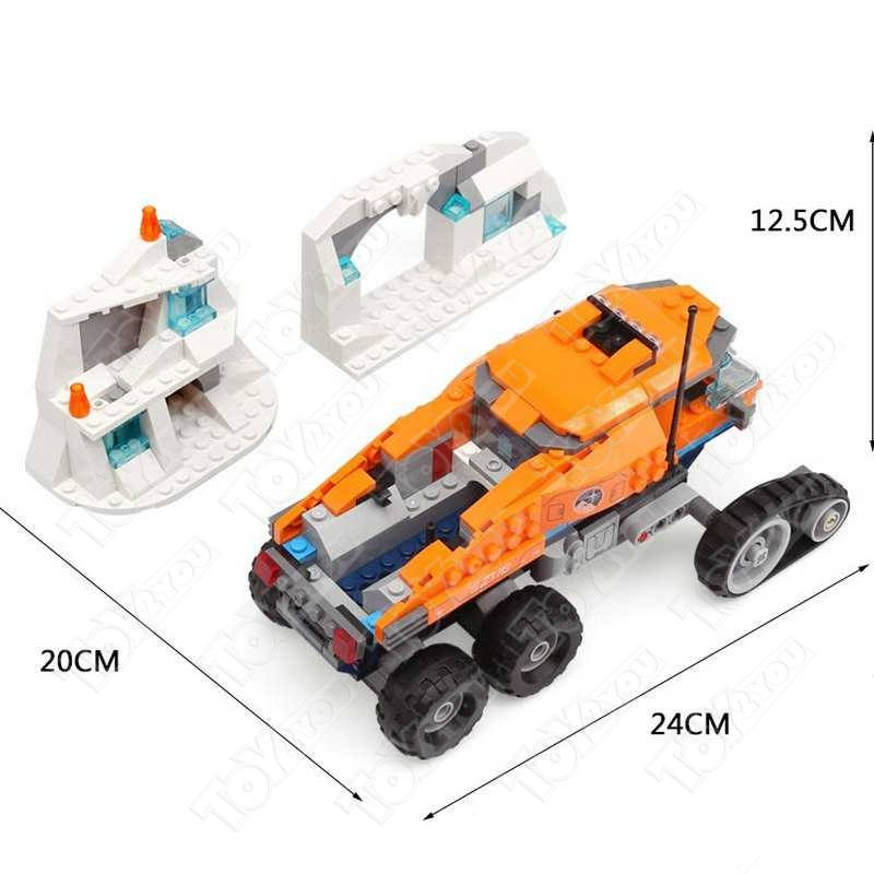 Конструктор City Грузовик ледовой разведки 339 деталей 60194 BELA 10995