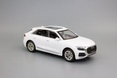 Модель автомобиля AUDI Q8 220x85 мм, белый