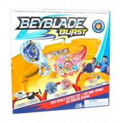 Бейблэйд Бёрст Большая Арена Круг +2 Светящихся волчка (Beyblade Burst)