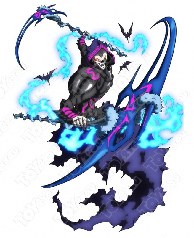 Волчок Бейблэйд Бёрст Дарк Десузер В-42 (Beyblade Burst B-42 Dark Deathscyther (Rising Ragnaruk))B-42