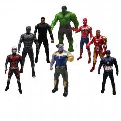 Игрушки Мстители набор 8 супергероев 20 см