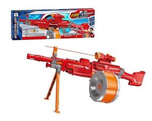 Автоматический Бластер Пулемет с пульками Файер Сторм Снайпер. (Fire Storm Blaste Sniper) 35 пулек.
