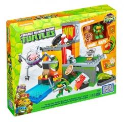 Набор DMX12 игровой Черепашки - малыши: убежище черепах Mega Bloks
