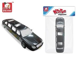 Машина EB52330R инерционная, в пакете 46*13*11см S+S Toys