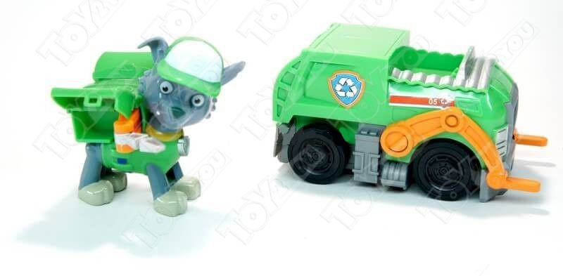 Набор игрушек Щенячий патруль - 8 героев с транспортом