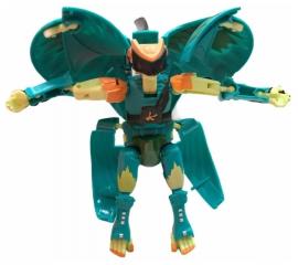 Бакуган большой Фигурка-трансформер Bakumorth «Боевой Ящер-Робот» Зеленый Дракон 20 см