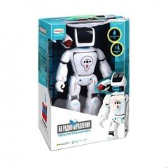 Робот р/у на гидроаккумуляторе, управление жестами, стреляет, танцует, ходит, в/к 33*17,2*42 см