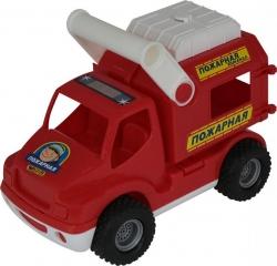 Автомобиль 0506 КонсТрак - пожарная команда, в сетке ПОЛЕСЬЕ