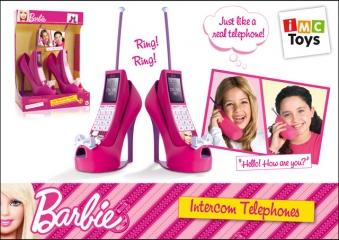 Телефон 784208 на батарейках, в коробке TM Barbie