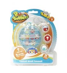Набор Т59261 1toy Bbuddieez шарик-шкатулка с подвеской и 3 шарма-перс.,подходит д.хранения 8 шармов,
