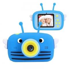 Детский фотоаппарат Пчелка «Синяя» Children's fun Camera