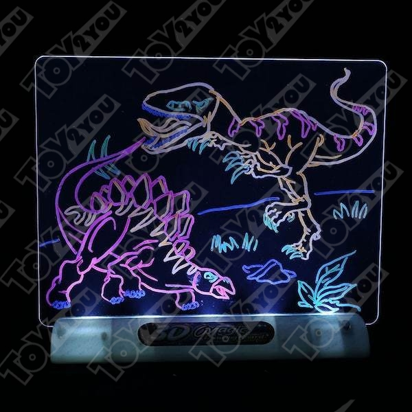 Магическая 3D доска для рисования Magic Drawing Board