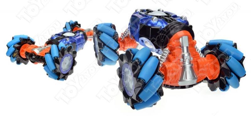 Машинка перевёртыш Дрифт 41 см синяя