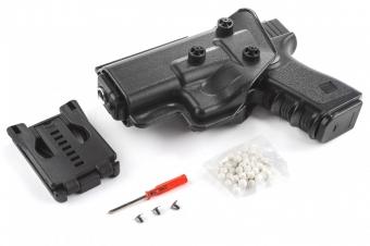Игрушечный пистолет Airsoft gun Galaxy G.26+ с кобурой