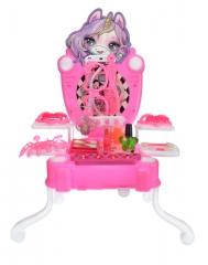 Переносной Косметический столик Единорог Пупси (Portable dresser Poopsie Unicorn)