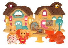 Набор игрушек Хэппи Фэмили счастливый домик (2 фигурки)