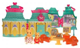 Набор игрушек Хэппи Фэмили счастливый пряничный домик (2 фигурки)