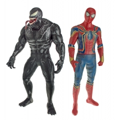 Набор супергерои Человек Паук и Веном 32 см