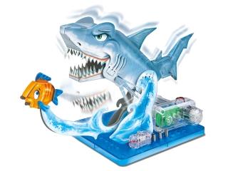 Научный опыт 37105 Акула на батарейках, в коробке