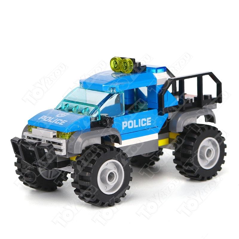 Конструктор City Полицейский участок в горах 705 деталей 60174 BELA 10865