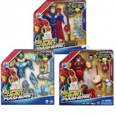 Набор фигурок Джаггернаутаут, Хлыс, Тор Hasbro Super Hero Mashers