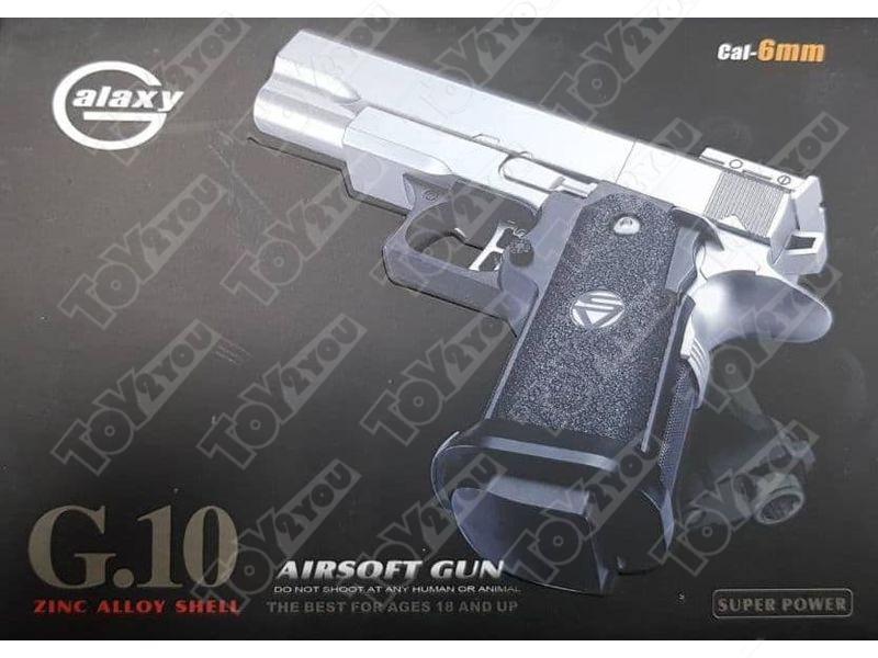 Детский пневматический пистолет из металла Colt M1911 (G.10)