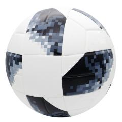 Мяч футбольный черно-белый (пиксель)