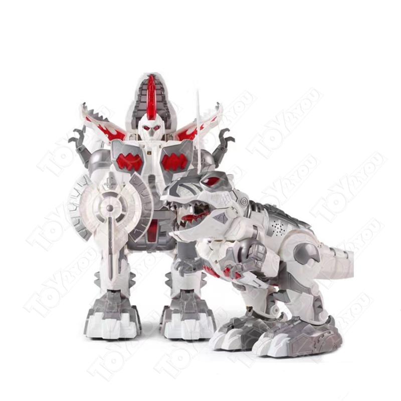Робот-динозавр трансформер Defatoys