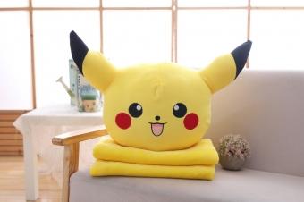 Мягкая игрушка 3 в 1 Покемон с пледом 50 см