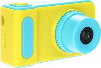 Детский цифровой фотоаппарат Kids Camera голубой (синий)