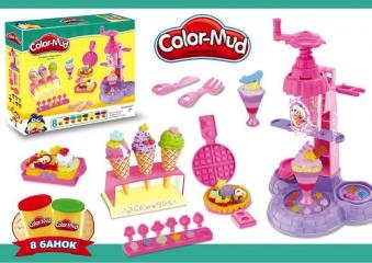 Игровой набор «Color-Mud» Фабрика мороженого