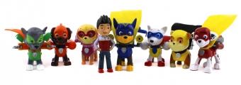 Набор игрушек Щенячий Патруль 7 щенков - супергероев и Райдер
