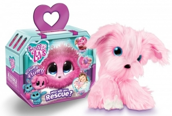 Пушистик-потеряшка (Scruff a Luvs) Розовый