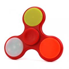 Спиннер Красный (три лопасти) - Подсветка