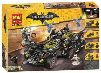 Конструктор супергерои Крутой Бэтмобиль Бэтмен 1504 деталей Batman 70917 BELA 10740
