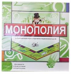 Монополия настольная игра 5211R