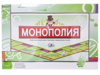 Монополия настольная игра 0112R
