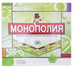 Монополия настольная игра 5216R