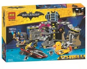 Конструктор супергерои Бэтмен Нападение на Бэтпещеру 1087 деталей Batman 70909 BELA 10636