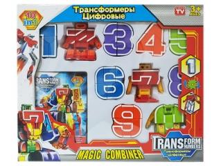 Трансботы Набор цифры от 0 до 9 (DV)