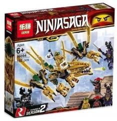 Конструктор НиндзяГо Золотой дракон 192 детали НиндзяГо Bela NinjaGo 06094