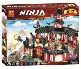 """Конструктор НиндзяГо """"Монастырь Кружитцу"""" 1112 деталей BELA NinjaGo 11165"""
