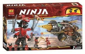 Конструктор НиндзяГо Земляной бур Коула 6 NinjaGo BELA 11163 10 деталей