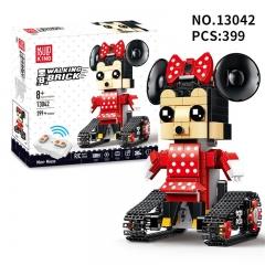 Конструктор Mimi Mouse Мини Маус на радиоуправлении 399 деталей MOULD KING 13042 (Аналог LEGO Technic/BrickHeadz 41625)